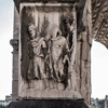 Triumphant arch of Emperor Septimius Severus, one of the bases with images of slaves