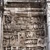 Łuk triumfalny cesarza Septymiusza Sewera, relief z historią podbojów cesarza w państwie Partów