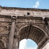 Triumphant arch of Emperor Septimius Severus