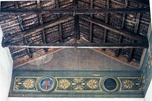 San Marco, loggia delle benedizioni, freski z XV w.