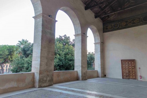 San Marco, loggia delle benedizioni w fasadzie kościoła