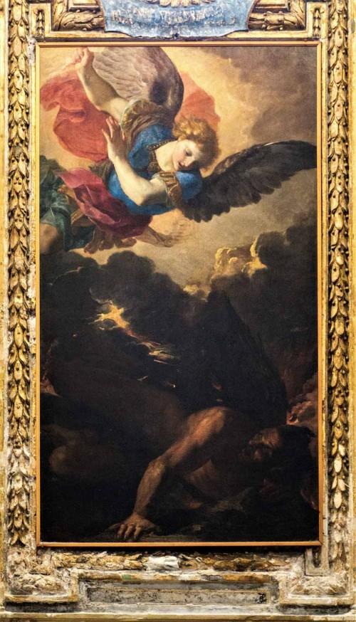 San Marco, Michał Archanioł zwyciężający Lucyfera, Francesco Mola