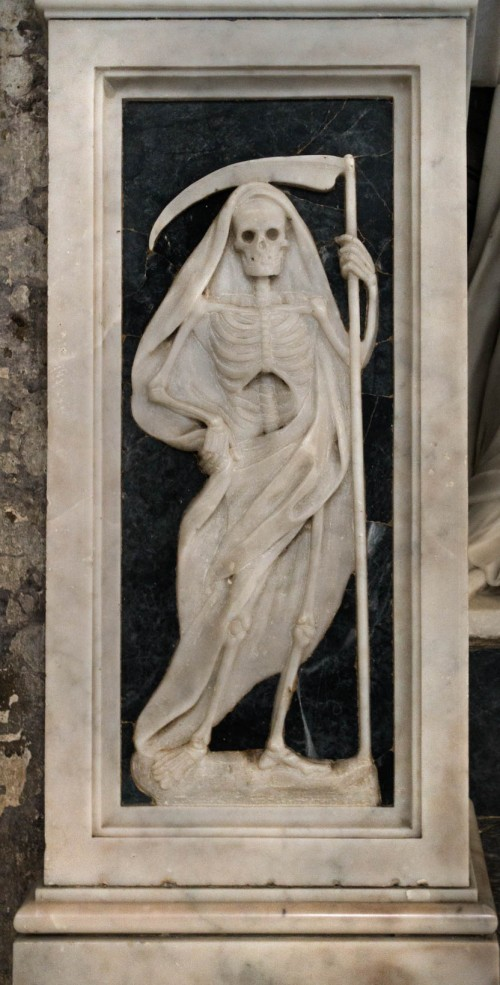 San Marco, monument nagrobny kardynała Pietro Basadonny, fragment z postumentu