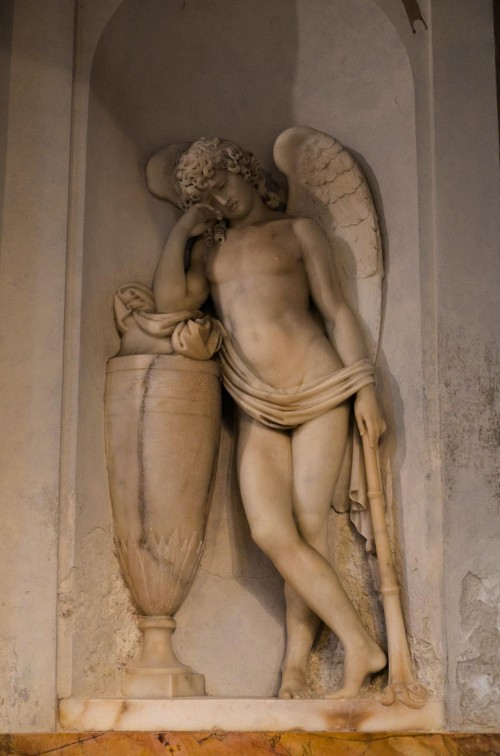San Marco, nagrobek Gabrielli Scaglia di Saluzzo, Felice Festa, fragment