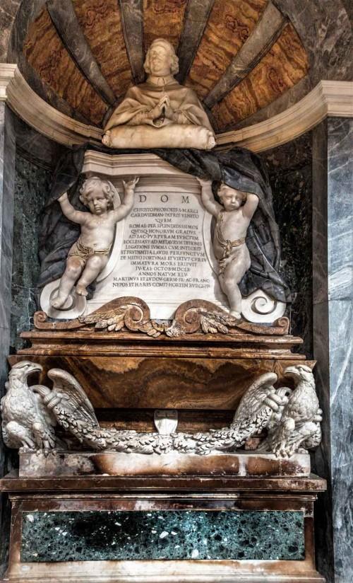 San Marco, nagrobek kardynała Cristoforo Vidmana, Cosimo Fancelli