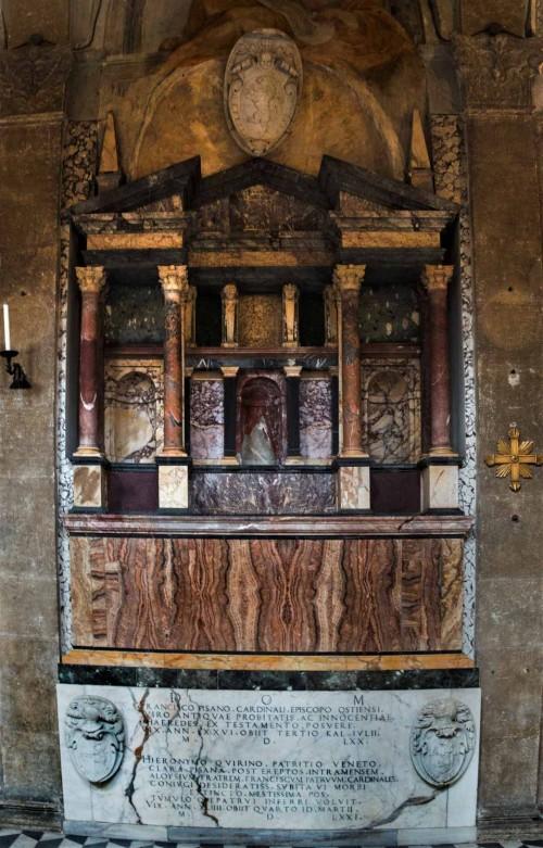 San Marco, nagrobek kardynała Francesco Pisaniego