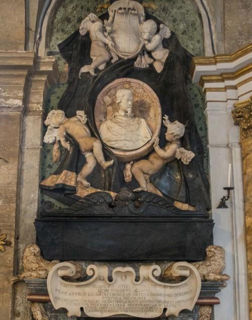 San Marco, pomnik nagrobny kardynała Marcantonia Bragadino, Lazzaro Morelli