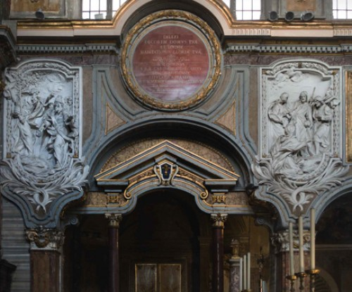 San Marco, stiuki w partii podokiennej, XVIII w.