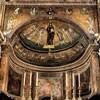San Marco, absyda i tęcza kościoła - mozaiki z IX w.