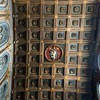 San Marco, kasetonowy strop  z 1468 r. z herbem papieża Pawła II