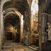 San Marco, lewa nawa kościoła z przodu monument nagrobny kardynała Pietro Basadonny