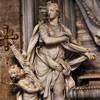 San Marco, nagrobek kardynała A. Prioli, alegoria Sprawiedliwości, detal