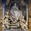 San Marco, pomnik nagrobny kardynała Aloisio Prioli, 1720 r., Francesco Moderati