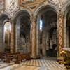 San Marco, widok lewej nawy kościoła