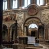 San Marco, widok lewej nawy kościoła - malowidła i stiuki z XVIII w.