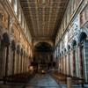 San Marco, wnętrze kościoła  z renesansowym stropem