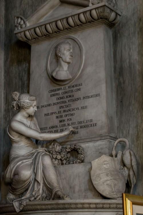 Santissimi Nomi di Gesù e Maria, klasycystyczny pomnik nagrobny