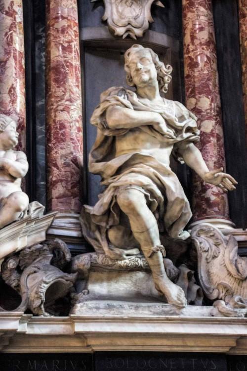 Santissimi Nomi di Gesù e Maria, pomnik nagrobny Maria Bolognettiego