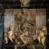 Santissimi Nomi di Gesù e Maria, pomnik nagrobny Camilla del Corno, Domenico Guidi