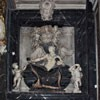 Santissimi Nomi di Gesù e Maria, pomnik nagrobny Giulia del Corno, Ercole Ferrata