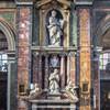 Santissimi Nomi di Gesù e Maria, w środku posąg Giorgia Bolognettiego