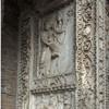 Arch of the Silversmiths  (Arco degli Argentari), scene depicting Emperor Septimius Severus and Julia Domna while making a sacrifice