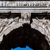 Łuk triumfalny cesarza Tytusa, Forum Romanum, fragment