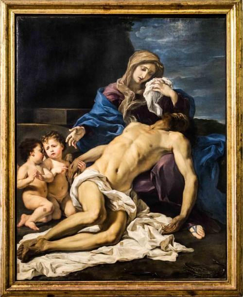 Baccicio, Opłakiwanie Chrystusa, Galleria Nazionale d'Arte Antica, Palazzo Barberini