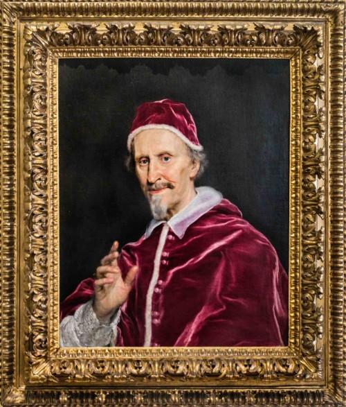 Baccicio, portret papieża Klemensa IX, Galleria Nazionale d'Arte Antica, Palazzo Barberini