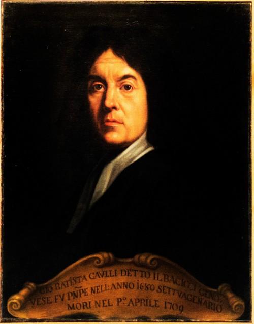 Baciccio's portrait, Accademia Nazionale di San Luca