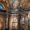 Baciccio, malowidła w pendentywach - Mądrość i Opatrzność, kościół Sant'Agnese in Agone