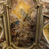 Baciccio, painting  on the ceiling of the Basilica of Santi Apostoli