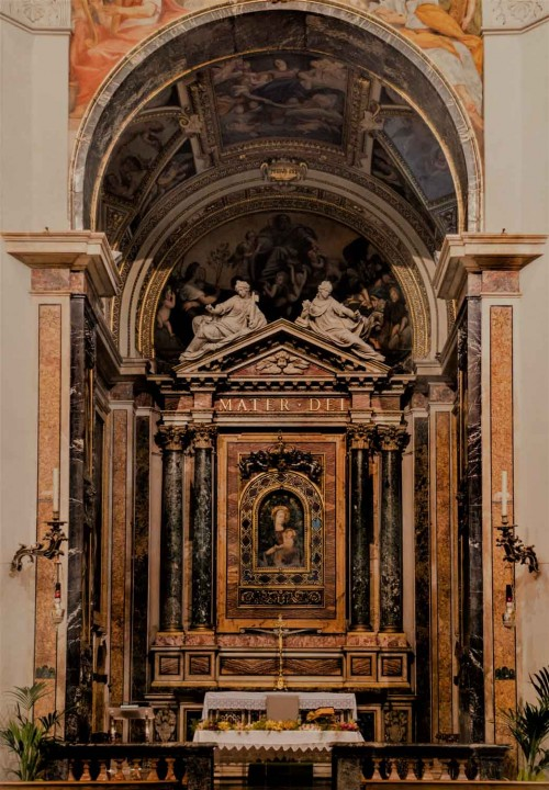 Carlo Maderno, main altar in the Church of Santa Maria della Pace