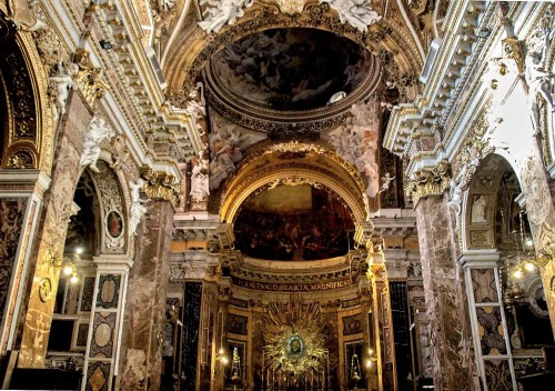 Carlo Maderno, wnętrze kościoła Santa Maria della Vittoria
