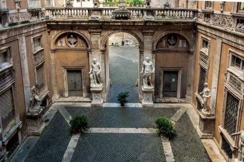 Courtyard of the Palazzo Mattei di Giove