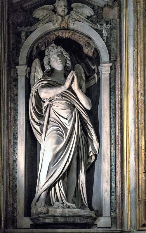 Stefano Maderno, anioł w absydzie kościoła Santa Maria di Loreto
