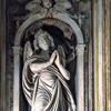Stefano Maderno, angel in the apse of the Church of Santa Maria di Loreto
