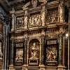 Stefano Maderno, dekoracyjne, floralne fryzy w kaplicy Paolińskiej (Cappella Paolina), bazylika Santa Maria Maggiore