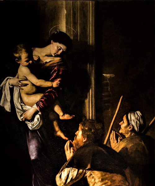 Caravaggio, Madonna Loretańska, bazylika Sant'Agostino