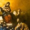 Madonna objawiajaca się św. Wawrzyńcowi, Giovanni Lanfranco, Palazzo del Quirinale