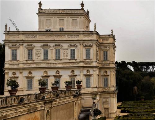 Casino di villa Doria Pamphilj, representative suburban palace of Olimpia's son – Camillo Pamphilj