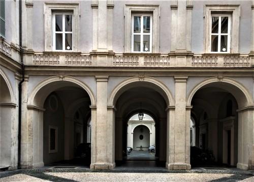 Courtyard of the Palazzo Pamphilj