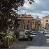 Centrum miasteczka San Martino al Cimino, ostatnie miejsce pobytu Olimpii