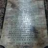 Tombstone of Olimpia Maidalchini in the friary of San Martino al Cimino