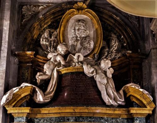 Giovanni Battista Maini, pomnik nagrobny Scipione Publicola Santacroce , kościół Santa Maria in Publicolis