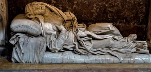 Giovanni Battista Maini, Św. Anna konająca, kościół Sant'Andrea delle Fratte