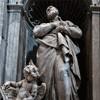 Giovanni Battista Maini, posąg św. Filipa Nereusza, bazylika San Pietro in Vaticano