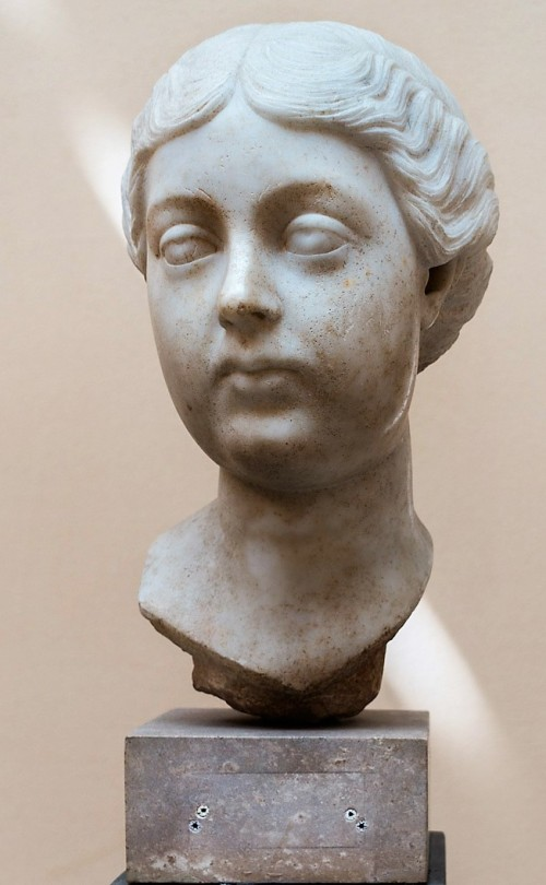 Lucilla, córka Marka Antoniusza i Faustyny Młodszej, Museo Ostiense, Ostia Antica
