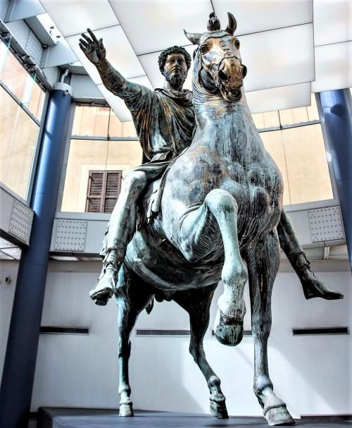 Pomnik konny cesarza Marka Aureliusza, Musei Capitolini