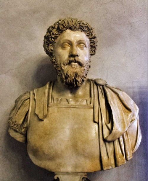 Popiersie cesarza Marka Aureliusza, Musei Capitolini